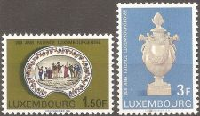 Buy Luxembourg: Scott No. 456-457 (1967), MNH, Complete 2-value set