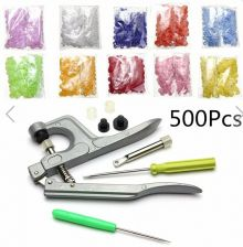 Buy snap plier set and 500 sets buttons