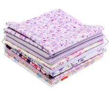 Buy 10 Pieces 4 sizes colorful fabric