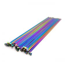 Buy Stylish Bicycle Bike Rainbow Wheel Spokes Sticks