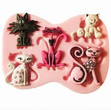 Buy fashion cat silicon mould