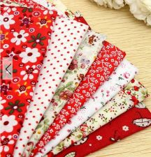 Buy 7 Pieces patterned Fabric Squares 96