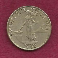Buy Philippines 25 Centavos 1962 Coin