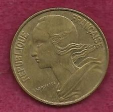 Buy France 20 Centimes 1963 FRENCH REPUBLIQUE FRANCAISE - Marianne, Aluminum-Bronze Coin