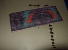 Buy 5 BALBOAS PANAMA 1941 / SPECIMEN, copy/laminated/REPRODUCTION