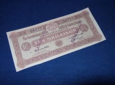 Buy Turks and Caicos 10 shillings, 1928, copy/REPRODUCTION