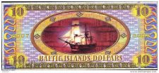 Buy BALTIC ISLANDS 10 Dollars 2007