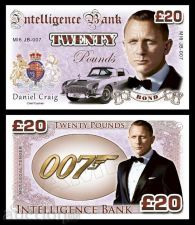 Buy 20 pounds Daniel Craig - James Bond