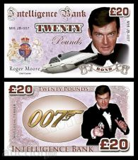 Buy 20 pounds Roger Moore - James Bond