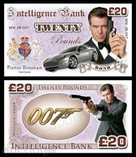 Buy 20 pounds Pierce Brosnan - James Bond