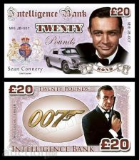 Buy 20 pounds Sean Connery - James Bond