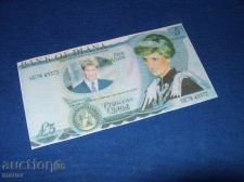 Buy 5 pounds Diana fantasy banknote/laminated