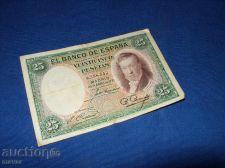 Buy Spain 25 pesos 1928/rare