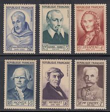 Buy France Famous Frenchmen mnh 1953