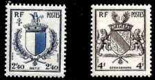 Buy France Reunion of Metz and Strasbourg mnh