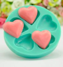 Buy fashion heart cake silicone mold