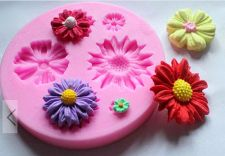 Buy fashion flower silicone mold