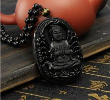 Buy buddha kwan yin guanine luck necklace