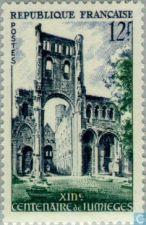 Buy France Jumiéges Church mnh 1954
