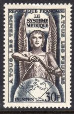 Buy France The Metric system mnh 1954