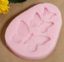 Buy fashion butterfly cake silicone mold