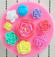 Buy fashion flower cake silicone mold 67