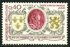 Buy France Treaty of Aix-la-Chapelle mnh 1968