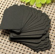 Buy 100PCS gift tag bookmark sticker/ 7*4cm