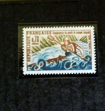 Buy France World Kayak-Canoeing mnh 1969