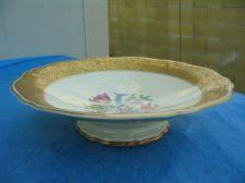Buy Chippendale Gold-Gild Rim Floral Candy & Cake Dish-Rosenthal Fine Porcelain