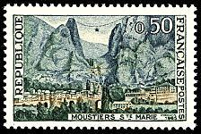 Buy France Moustiers-St. Marie mnh 1965