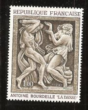 Buy France Painting Bourdelle mnh 1968