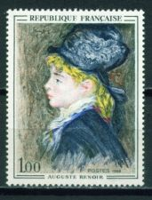 Buy France Painting Renoir mnh 1968