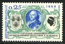 Buy France Union of Corsica and France mnh 1968
