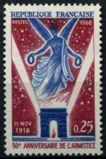 Buy France Armistice on the Western Front mnh 1968
