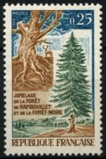 Buy France Black and Rambouillet Forests mnh 1968