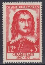 Buy France Samuel de Champlain mnh 1956