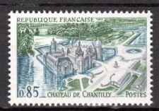 Buy France Chantilly Castle mnh 1969