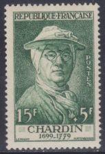 Buy France J. B. Chardin mnh 1956