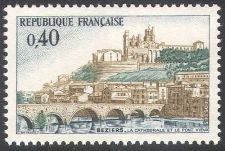 Buy France Bridge Architecture mnh 1968