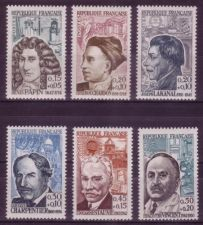Buy France Famous People mnh 1962