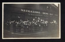 Buy 1925 Black And White Photo Navigazione Generale Italiana Swedish America Line