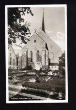 Buy Post Card Sweden 1951: Gustaf VI Adolf 25 Ore Gray-Church Vadstena,To Hittarp Sweden