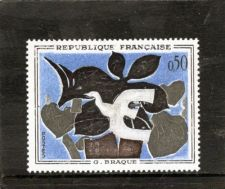 Buy France French Art Braque mnh 1961