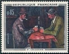 Buy France French Art Cezanne mnh 1961