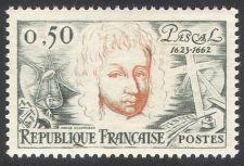 Buy France Blaise Pascal mnh 1962