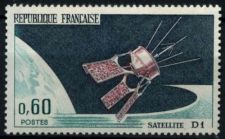 Buy France Launching of Satellite mnh 1966