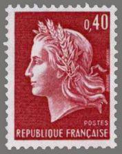 Buy France Marianne 40c mnh 1969
