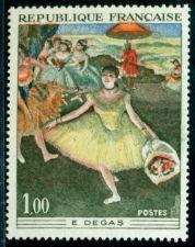 Buy France Painting Degas mnh 1970