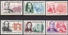 Buy France Famous People mnh 1961